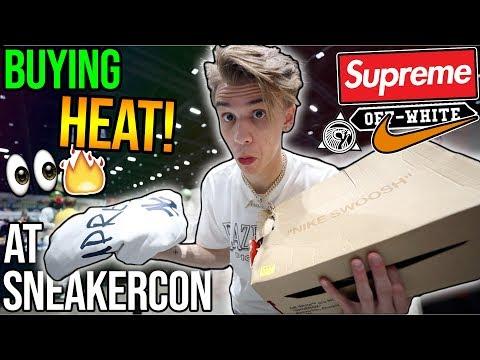 Buying $2000+ of HEAT Sneakers/Streetwear at Sneakercon!