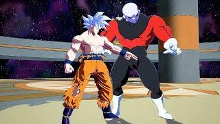 Dragon Ball FighterZ - Ultra Instinct GOKU vs JIREN Gameplay PC Mods @ 1440p (60ᶠᵖˢ) QHD ✔
