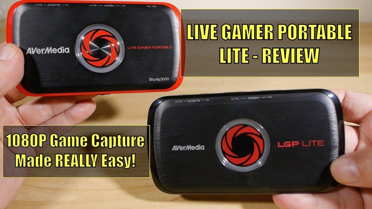 Live gamer portable lite review youtube for Gamer v portable