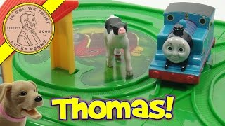 Thomas Bring Along Mini Train Set, Pull Back & Watch Him Go!