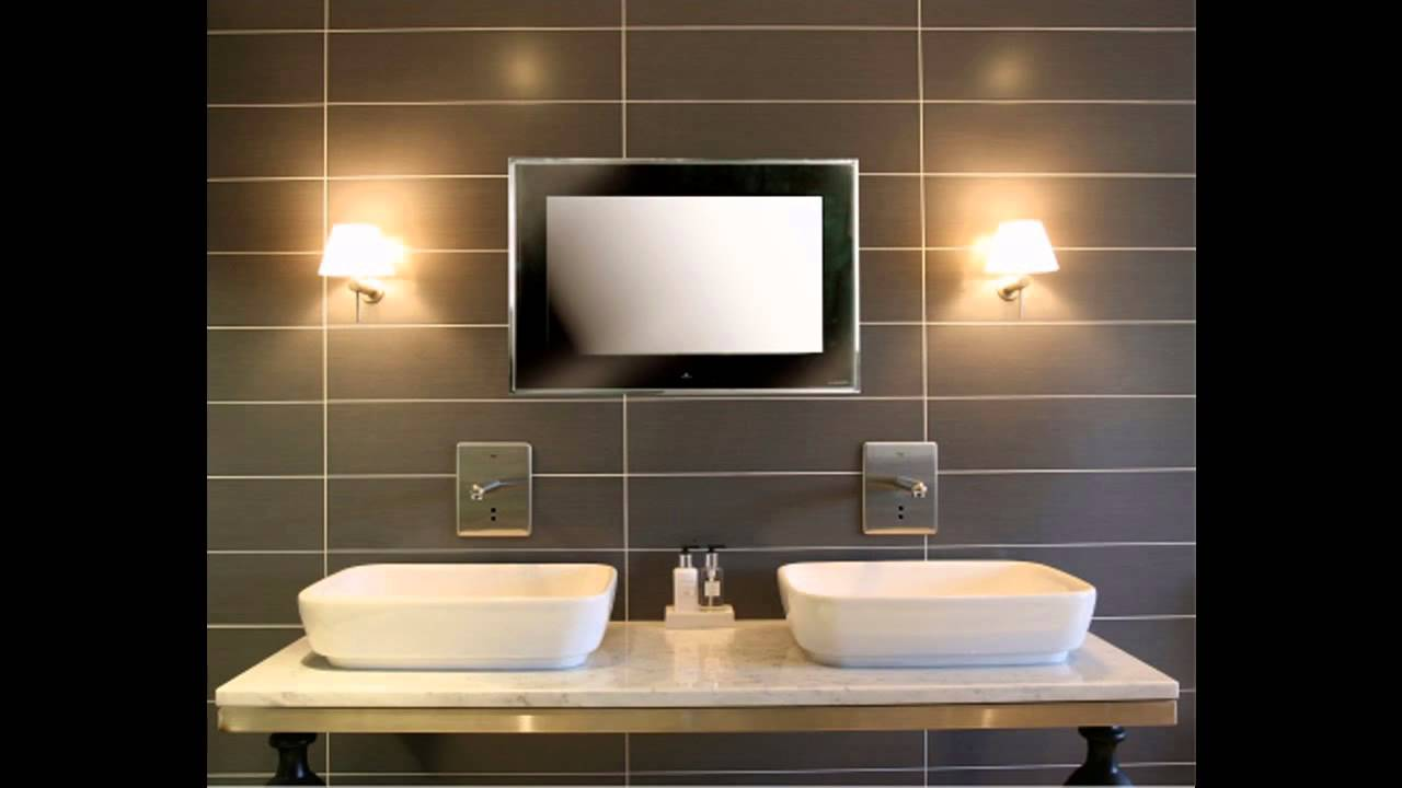 Bathroom Tv Ideas Home Art Design Decorations Youtube