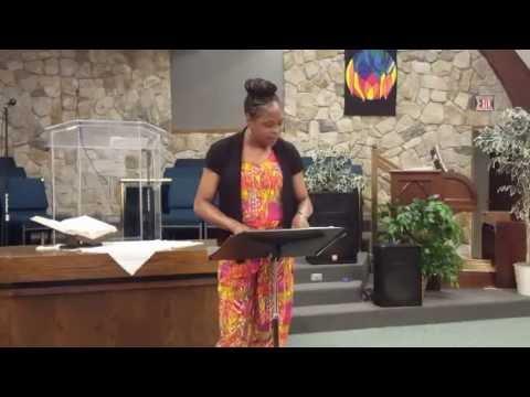 Pastor Earline Roberson - Fresh Fire Conference. Colorado Springs. (7/25/16)