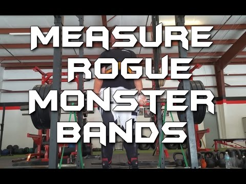 How to measure Rogue Monster band tension with fish scale