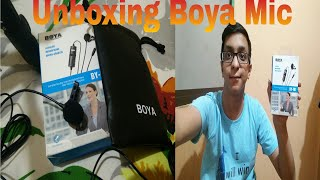 Unboxing Boya Mic🔥🔥🔥By Chaitanya | Why used by all YouTubers ? Even used by Technical Guruji !