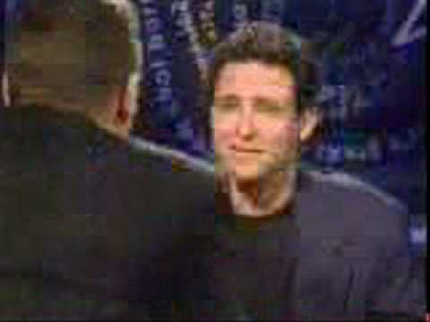 Jim Everett attacks guy during interview