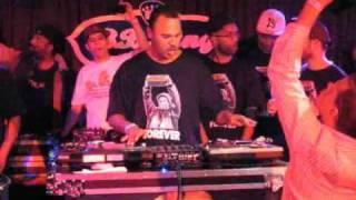 Mista Sinista Pays Tribute to Roc Raida Live