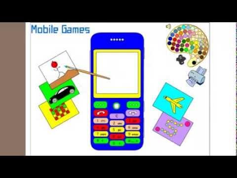เกมส์ระบายสีโทรศัพท์แสนสวย