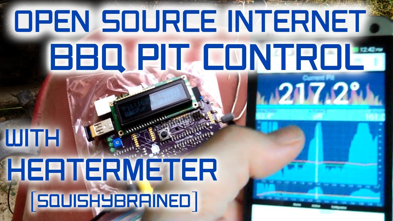 Open Source Internet BBQ Controller with Heatermeter on Raspberry Pi