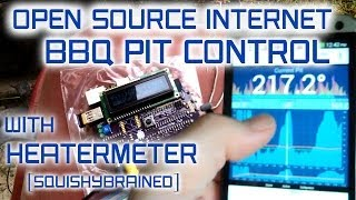 Open Source Internet BBQ Controller with Heatermeter on Raspberry Pi by  SquishyBrained