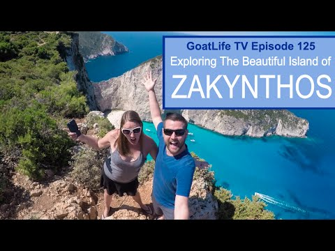 Exploring The Beautiful Island of Zakynthos, Greece