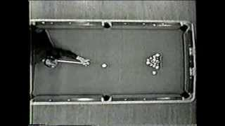Willie Mosconi Jimmy Caras Straight Pool Match