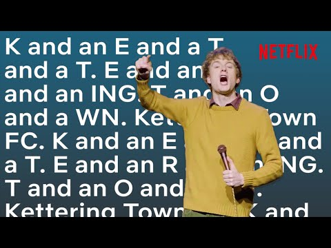 James Acaster's Kettering Town FC Chant