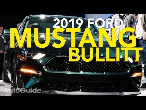 2019 Ford Mustang Bullitt First Look - 2018 Detroit Auto Show
