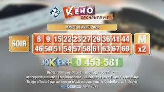 Retrouvez la vidéo du #tirage #Keno gagnant à vie® du 28 avril 2020 sur la chaîne YouTube officielle FDJ®. Les tirages des autres dates sont également ...