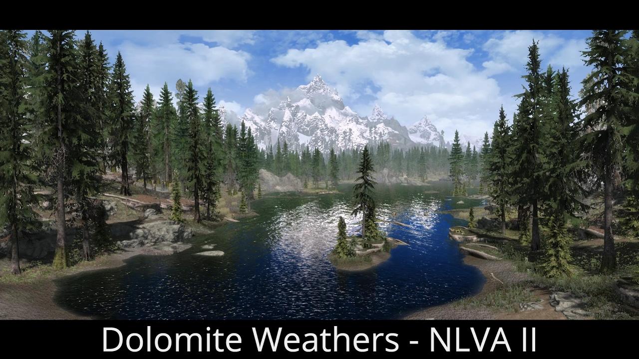 release date presenting online shop Skyrim SE Mods - Dolomite Weathers (NLVA II )