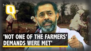 'Govt's Grand Schemes Had Nothing New for Farmers': Yogendra Yadav | The Quint