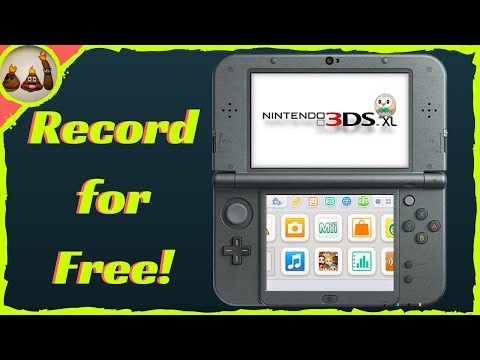 How to Record and Livestream 3DS Gameplay for FREE using OBS! No CAPTURE CARD REQUIRED!