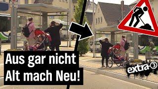 Realer Irrsinn: Busbahnhof in Lübbecke wird für Parkplätze abgerissen