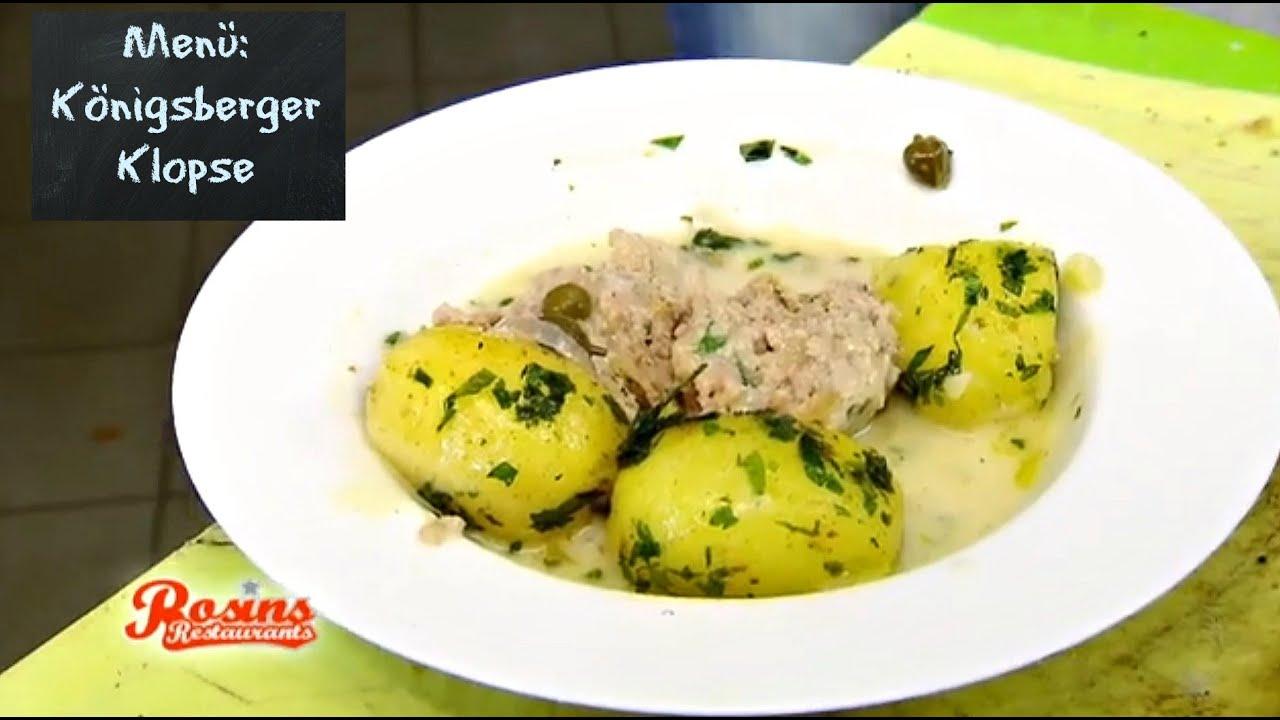 Rosins Restaurants Rosins Rezept Königsberger Klopse Kabel Eins