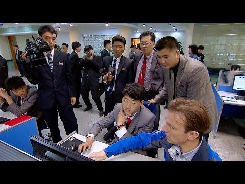 A Rare Look Inside Kim Il Sung University - Panorama: Inside North Korea - BBC