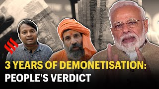 Three years later, people remember demonetisation