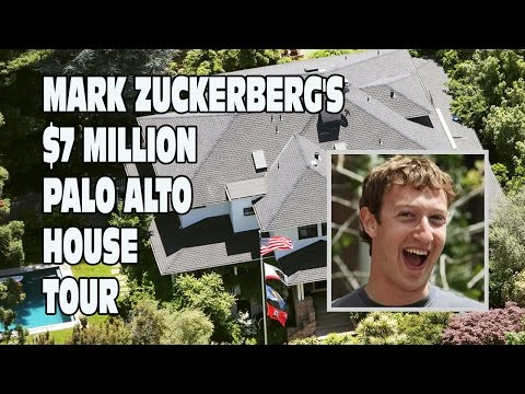 Mark Zuckerberg's House Tour - Palo Alto