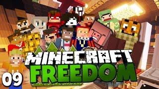 DIE HALLE DER YOUTUBER & LABOR 69?! ✪ Minecraft FREEDOM #09