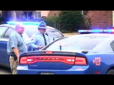 Two Georgia police officers shot, one dead