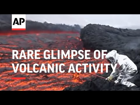 Rare glimpse of volcanic activity on remote Kamchatka peninsula