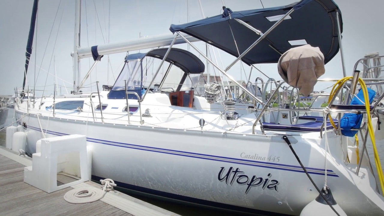 2010 Catalina 445 Sailboat