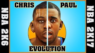 CHRIS PAUL evolution [NBA 2K6 - NBA 2K17] 🏀
