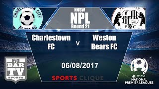 Charlestown City Blues vs Weston Workers full match