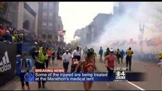 Breaking News 2 Explosions At Boston Marathon 2013 - 12 dead people- Live video