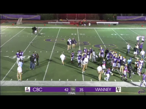 CBC vs. Vianney | Varsity Football | MCC Championship