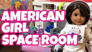 American Girl of The Year Luciana's Room - Space Themed
