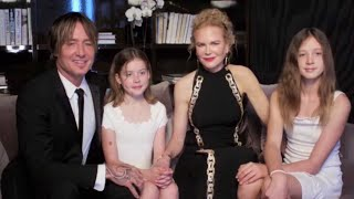 Nicole Kidman and Keith Urban's Daughters Make RARE Cameo at 2021 Golden Globes