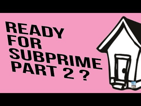 Subprime Is Back and Bigger Than EVER! Trillions In Derivatives Exposed To Market SHOCK!