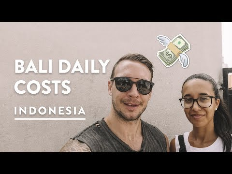 COSTS OF CANGGU - FOOD, GROCERIES & MORE | Bali Digital Nomad | Travel Vlog 141, 2018