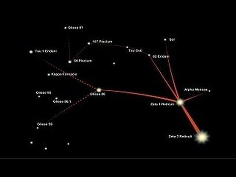 ufo ALIEN abduction BETTY & barney hill STANTON friedman star map zeta reticuli