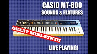 MT- 800 As a mini synth (Part 1)
