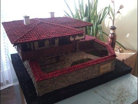 unique model of Bulgarian Rhodope house