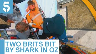 Australia shark attack: British tourist loses foot | 5 News