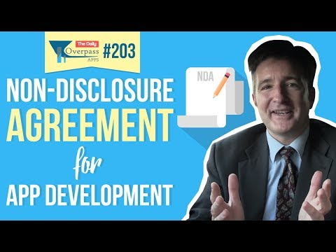 Non Disclosure Agreements Ndas For App Development