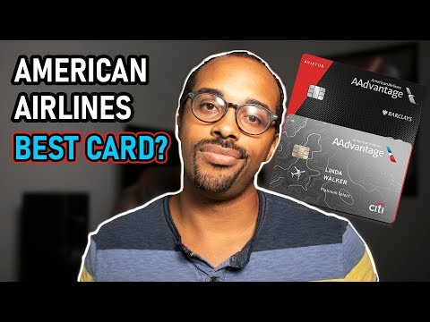 American Airlines Credit Card Comparison (Citi & Barclays) - 2019