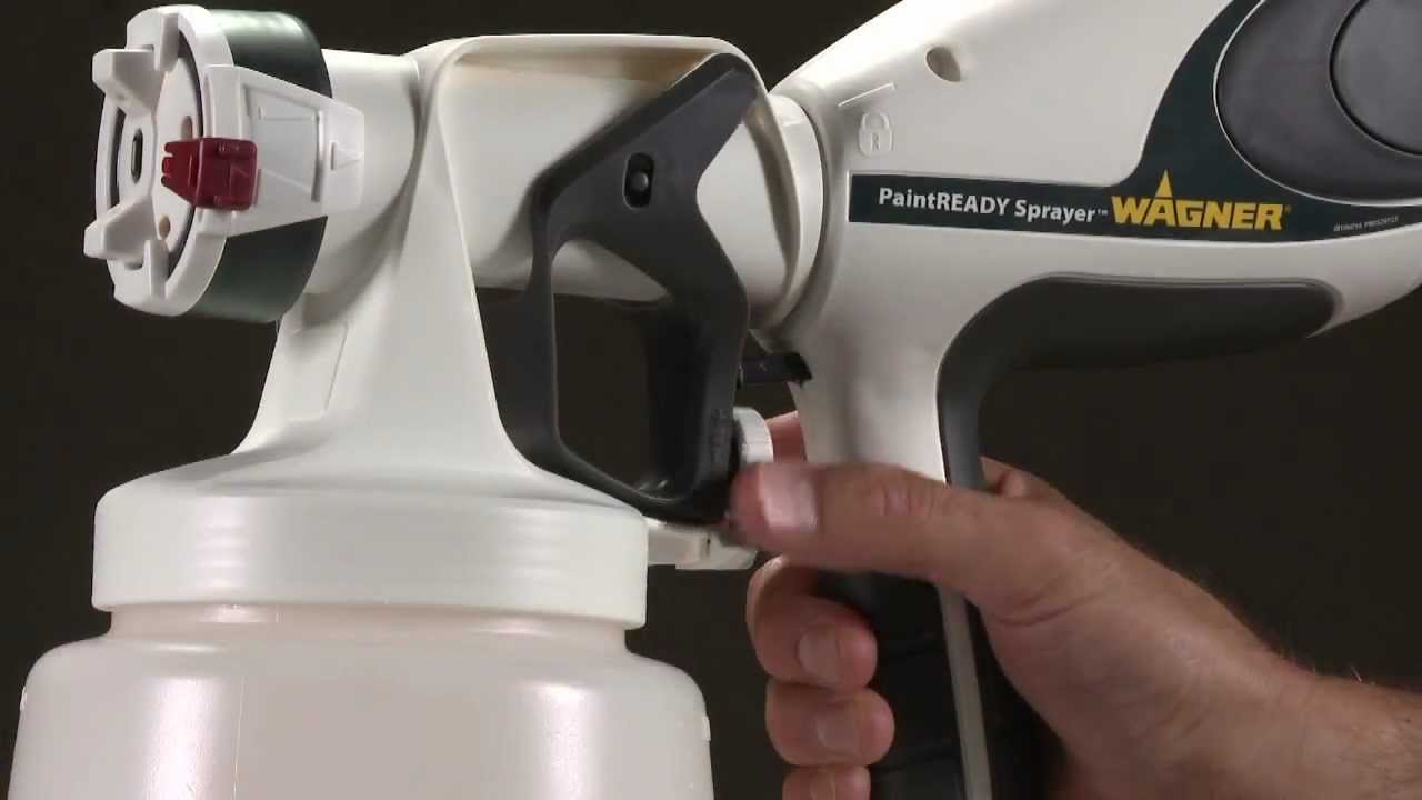 Wagner Paintready Sprayer Painting Youtube