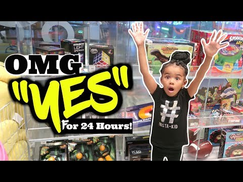 IF A FOUR YEAR OLD WAS IN CHARGE! Parents Can't Say NO For 24 HOURS Challenge! OMG MUST WATCH