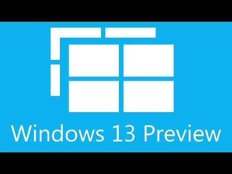 Windows 13 preview version showcase! Ushering a new era for computers!