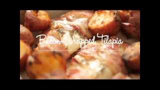 How To Make Bacon-wrapped Tilapia With New Potatoes