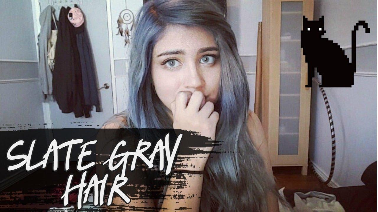 Slate Gray Hair【 Wella 050】 Youtube