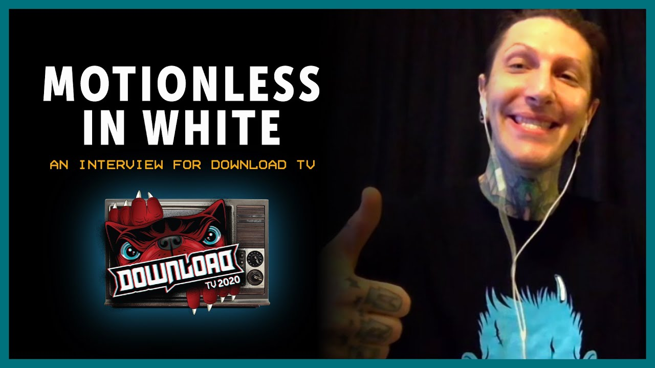 MOTIONLESS IN WHITE interview for Download Festival TV!